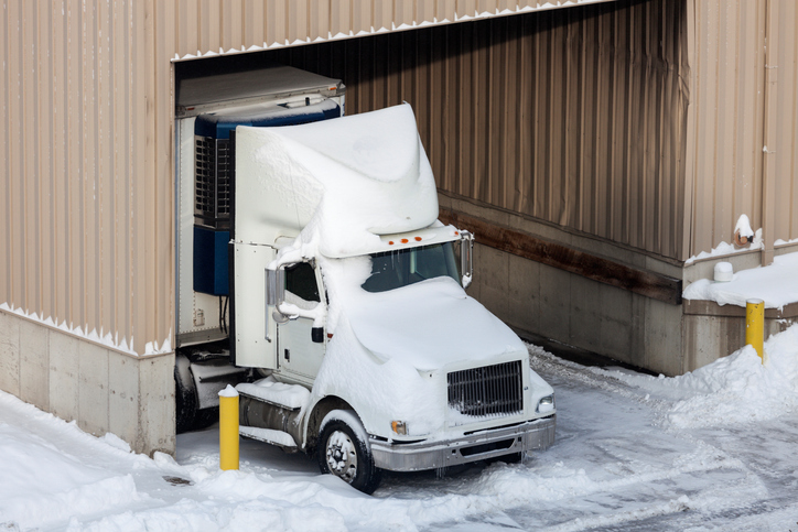 commercial vehicle winter storage